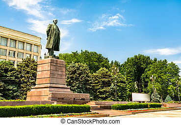 Monument to Vladimir Lenin in Makhachkala, Russia - Monument...