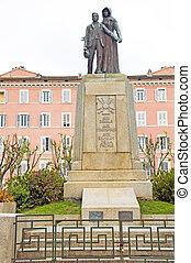 monument to war dead Bastia Corsica