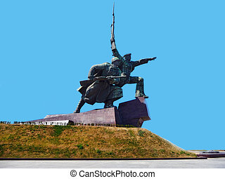 Monument to war - Monument to defense of Sevastopol in the...