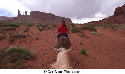 Monument Valley Horseback Riding