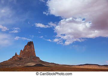 Monument Valley in the Navajo reservation