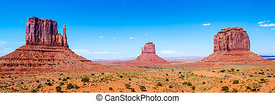 Monument Valley Navajo Tribal Park - View at the Monument ...