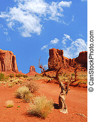 Monument Valley Rock Formations - Monument Vally rock ...