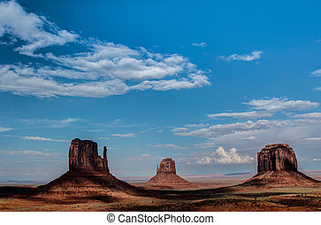 Monument Valley. Sandstone formation.