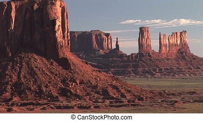 Monument Valley, time lapse - Monument Valley Navajo Tribal...