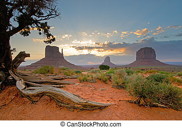 Monument Valley, Utah, USA - Monument Valley, Utah,...