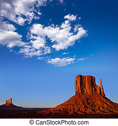 Monument Valley West Mitten Butte Utah