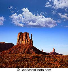 Monument Valley West Mitten Butte Utah Park