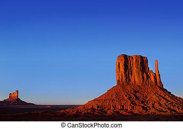 Monument Valley West Mitten Butte Utah