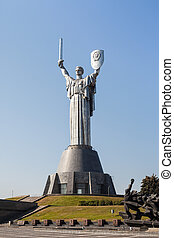 """Mother Motherland - Monumental statue of the """"Mother ..."""