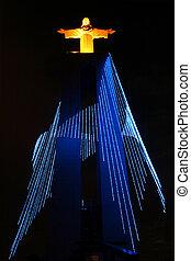 monumento, a, cristo