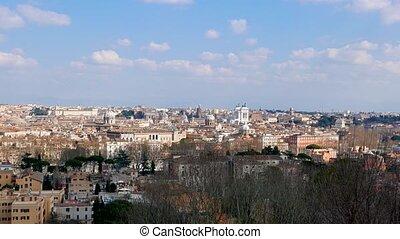 Monumento a Vittorio Emanuele II (Vittoriano). Zoom. UltraHD...