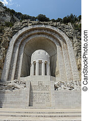 monumento conmemorativo, agradable, guerra, francia