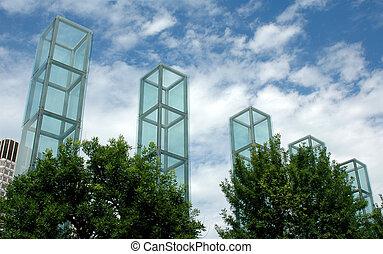 monumento conmemorativo, ma, holocausto, boston
