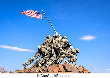 monumento conmemorativo, washington dc, guerra
