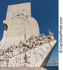 monumento, discoveries, belem, lisboa