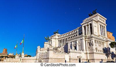 Monumento Nazionale a Vittorio Emanuele II in Rome