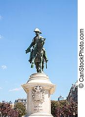 monumento, rey, peter, porto