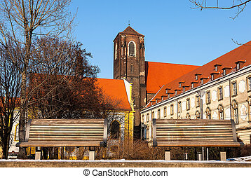Monuments in the city of Wroclaw, Poland