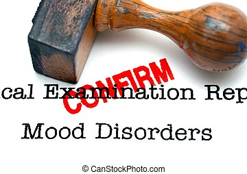 Mood disorder confirm
