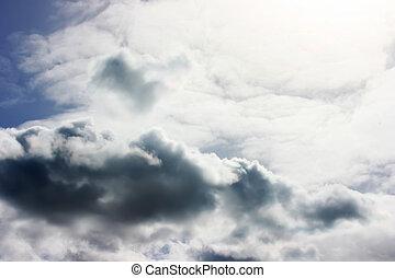 Moody Sky - Digital photo of a moody sky.