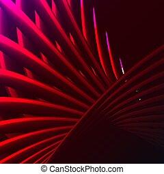 mooi, abstract, verdraaid, staven, roze, paarse , spiraal, textuur, achtergrond., gloeiend, energie, elektrisch, vuur, lijnen, latwerken, plakken, illustration., briljant, kosmisch, magisch, vector, strepen