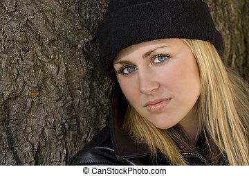 mooi, black , blonde