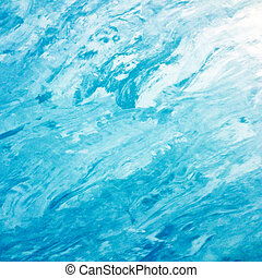 mooi, blauwe , acryl, achtergrond