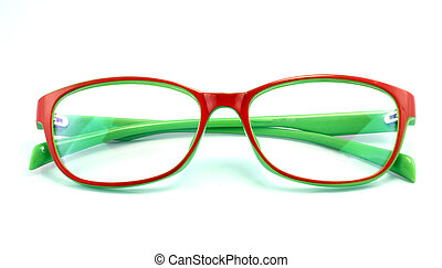 mooi, bril, vrijstaand