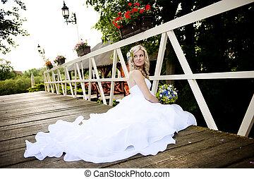mooi, bruid