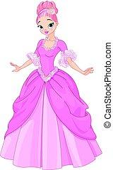 mooi, fairytale, prinsesje