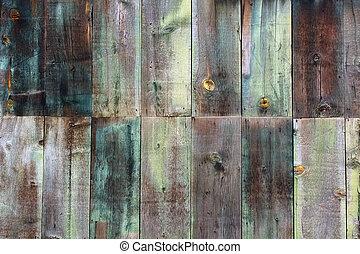 mooi, gekleurde, houten textuur