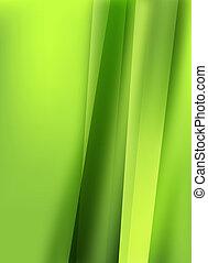 mooi, groene, ontwerp