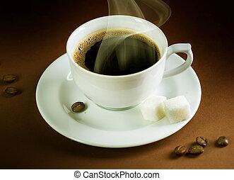 mooi, hete koffie