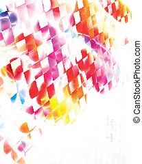 mooi, kleurrijke, achtergrond