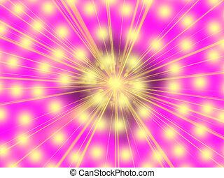 mooi, licht, abstract, achtergrond