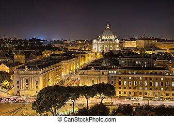 mooi, luchtopnames, bekende & bijzondere plaatsen, rome, zijn, aanzicht