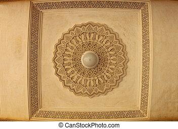 mooi, marokkaan, architecture.