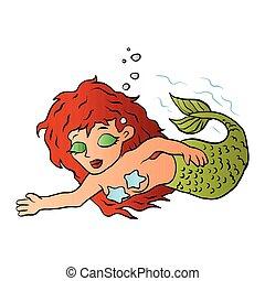 mooi, mermaid