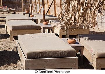 mooi, mykonos, strand, griekenland