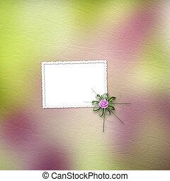 mooi, pastel achtergrond, rozen, boeketten, tekening