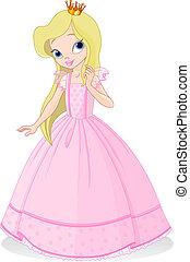 mooi, prinsesje