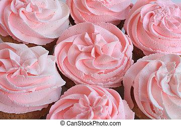 mooi, roze