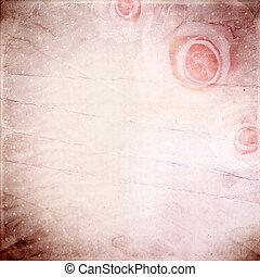 mooi, rozen, achtergrond