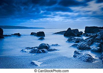 mooi, strand, landscape
