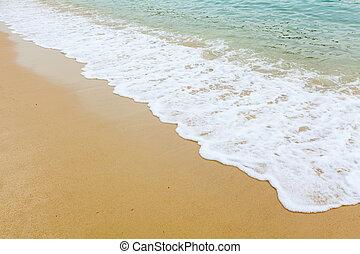 mooi, strand
