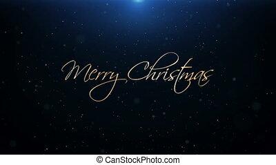 mooi, tekst, groet, animatie, vrolijk, jaar, nieuw, kerstmis