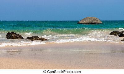 mooi, thailand, strand, landscape