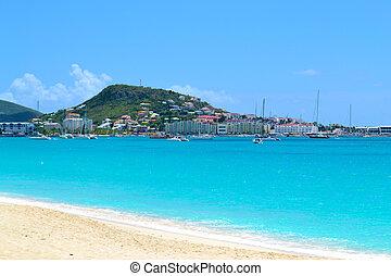 mooi, tropisch eiland