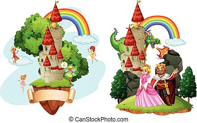 mooi, verhaal, elfje, kasteel
